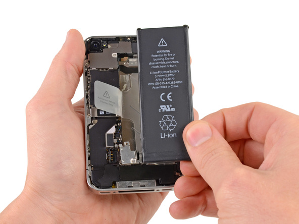 iPhone Pil Değişimi - iPhone 4s