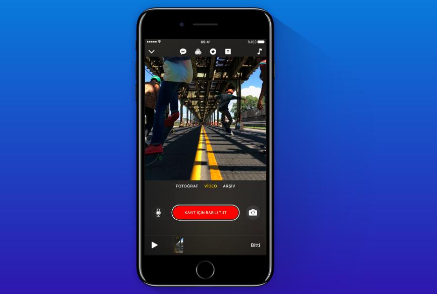 Apple Video Uygulaması Clips