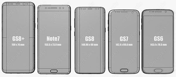 Samsung Galaxy S8 ve Galaxy S7