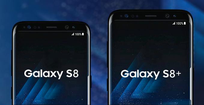 Samsung Galaxy S8 ve Galaxy S8 Plus