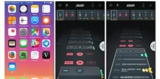 Vantage-Calendar-iOS-Uygulamasi