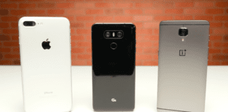 iPhone 7 Plus ve LG G6 ve OnePlus 3T