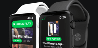 Apple Watch Spotify