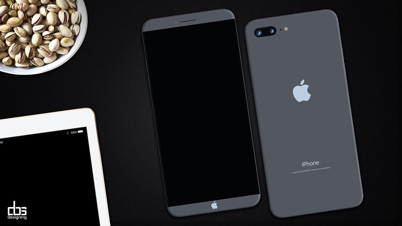 Uzay Grisi iPhone 8