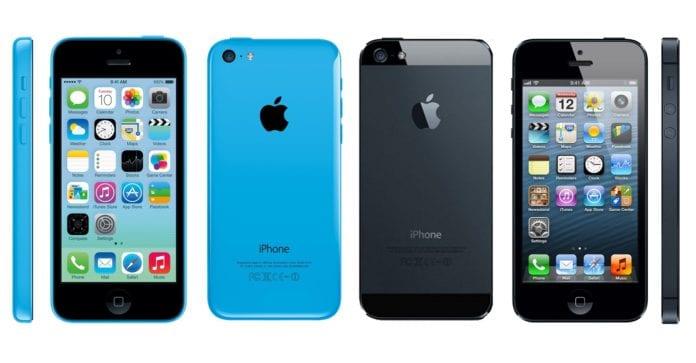 iPhone 5 ve iPhone 5c