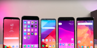 iPhone 7 Plus LG G6 Galaxy S8 OnePlus 3T