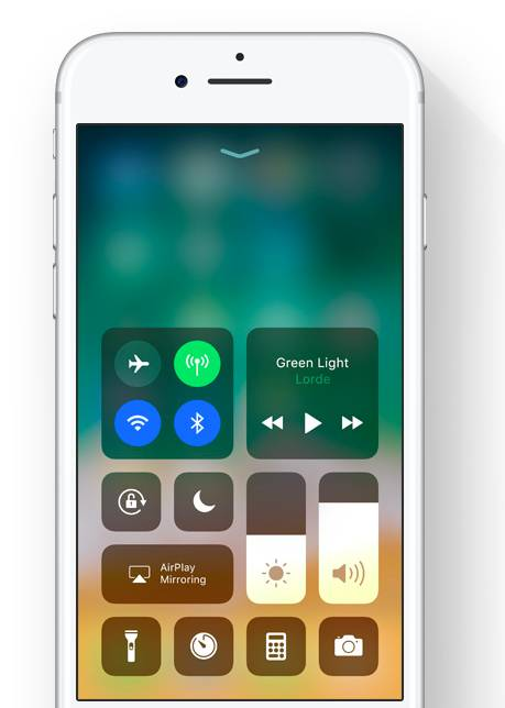 iOS 11 Kontrol Merkezi