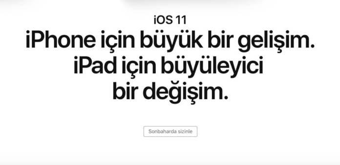 iOS 11 Uyumlu Cihazlar