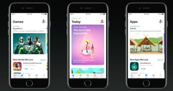 iOS 11 Yeni App Store