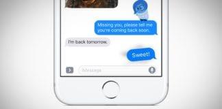 iOS 11 iMessage Efektleri