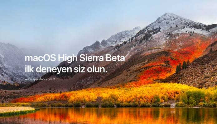 macOS High Sierra Beta