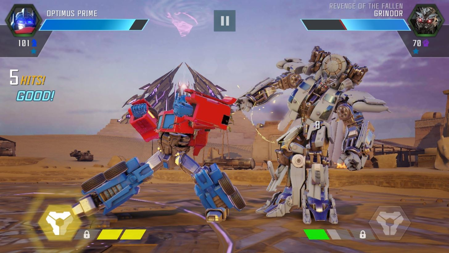 Transformers- Forged to Fight