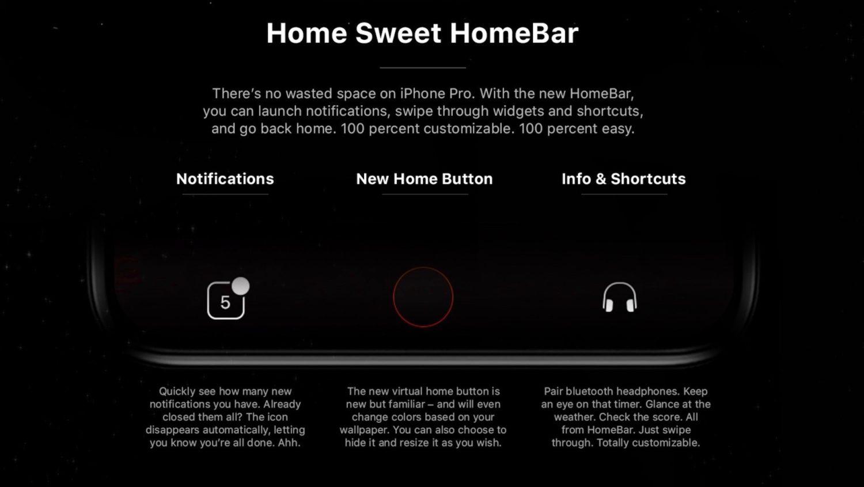 iPhone 8 HomeBar