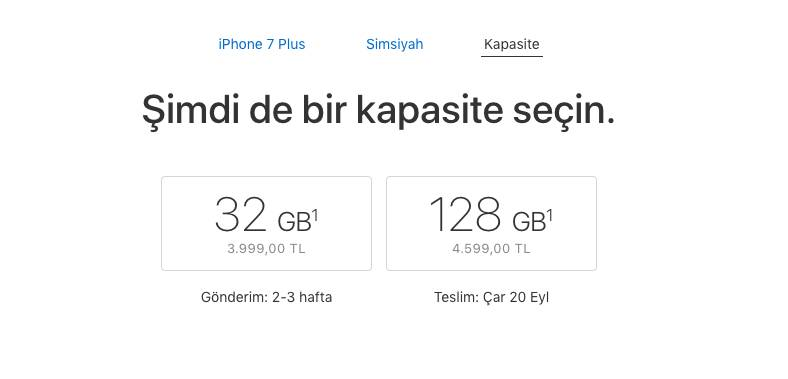 iPhone 7 32GB Simsiyah