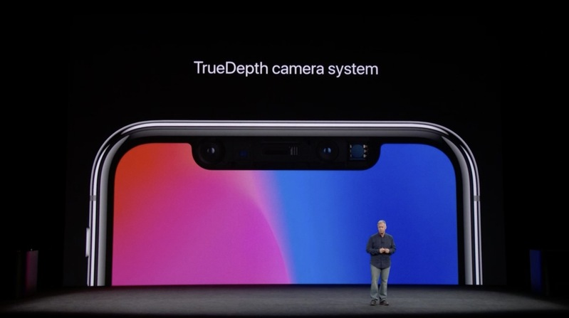 iPhone X TrueDepth Kamera