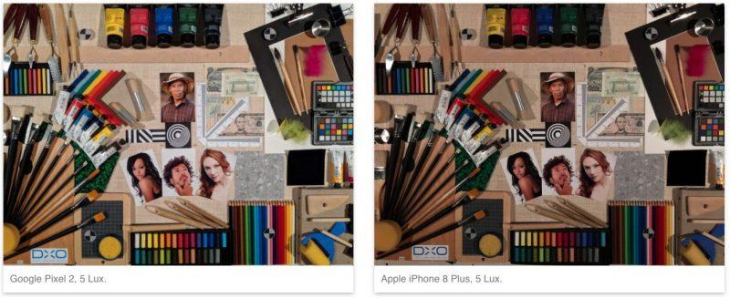 iPhone 8 Plus vs Google Pixel 2