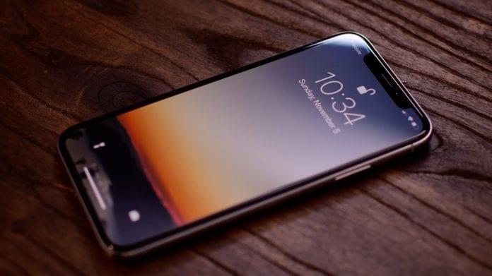 Apple iPhone X Ekran