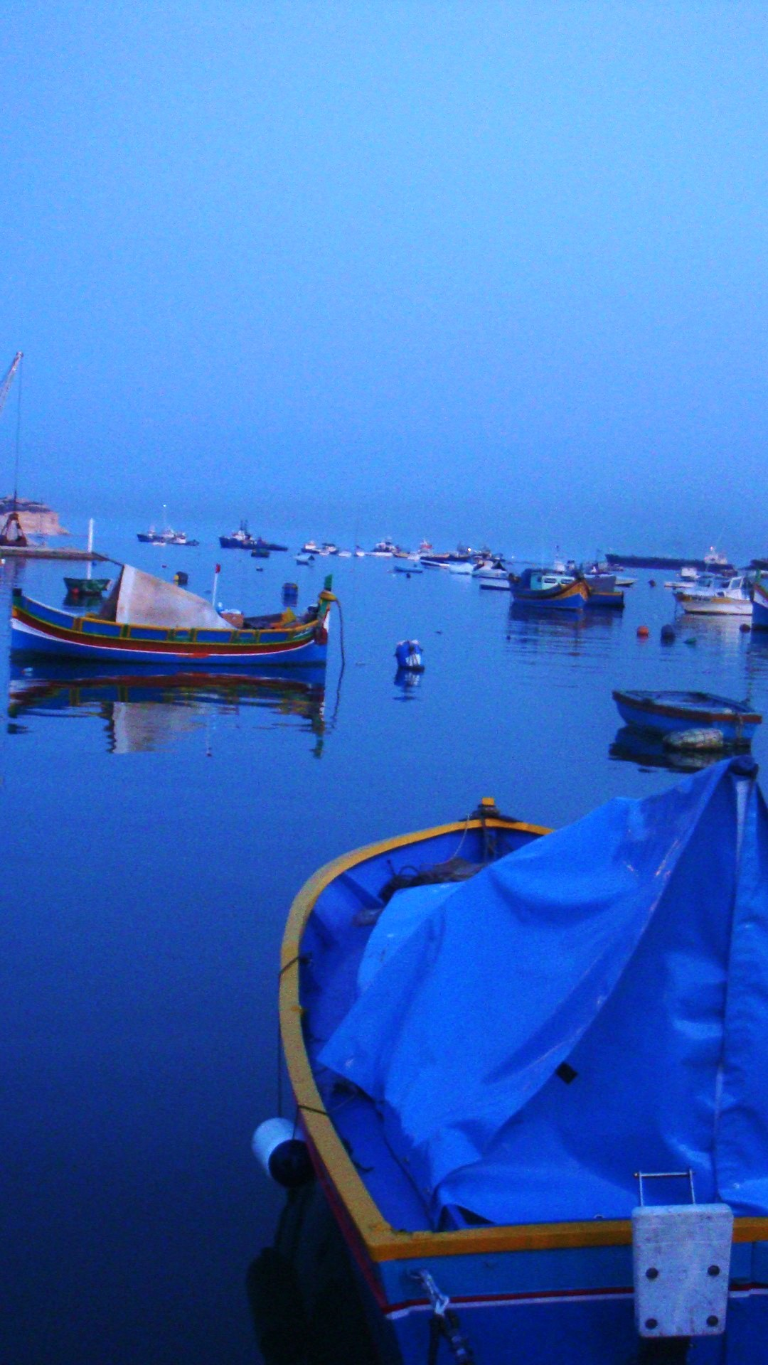 Boat Dock Sunset iPhone 6 Plus HD Wallpaper