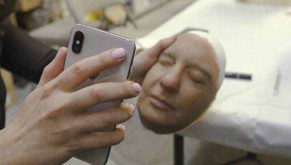Face ID-Maske