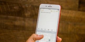 iOS 11 Klavye Problemi