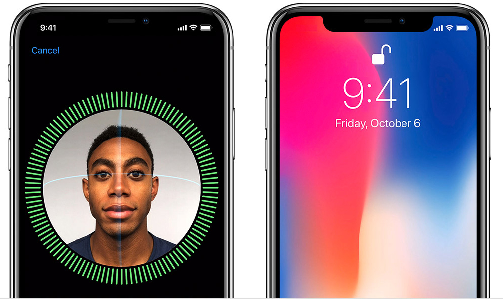 iPhone X Face ID Apple