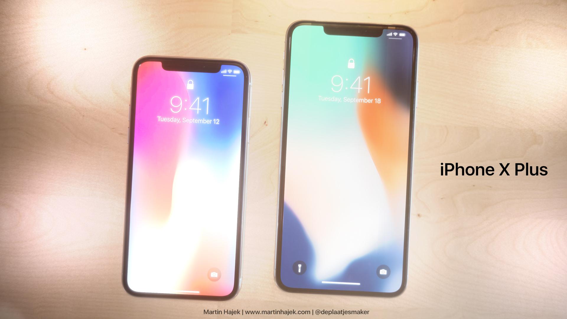 iPhone X Plus Konsept