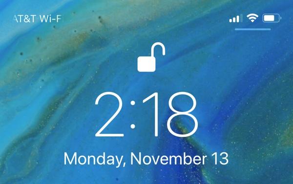 iPhone X iOS 11.2 Denetim Merkezi