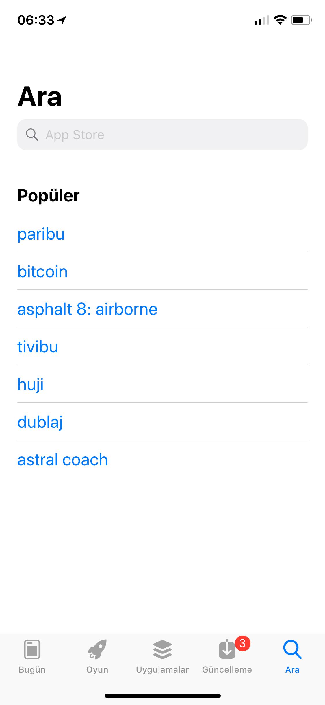 App Store Bitcoin