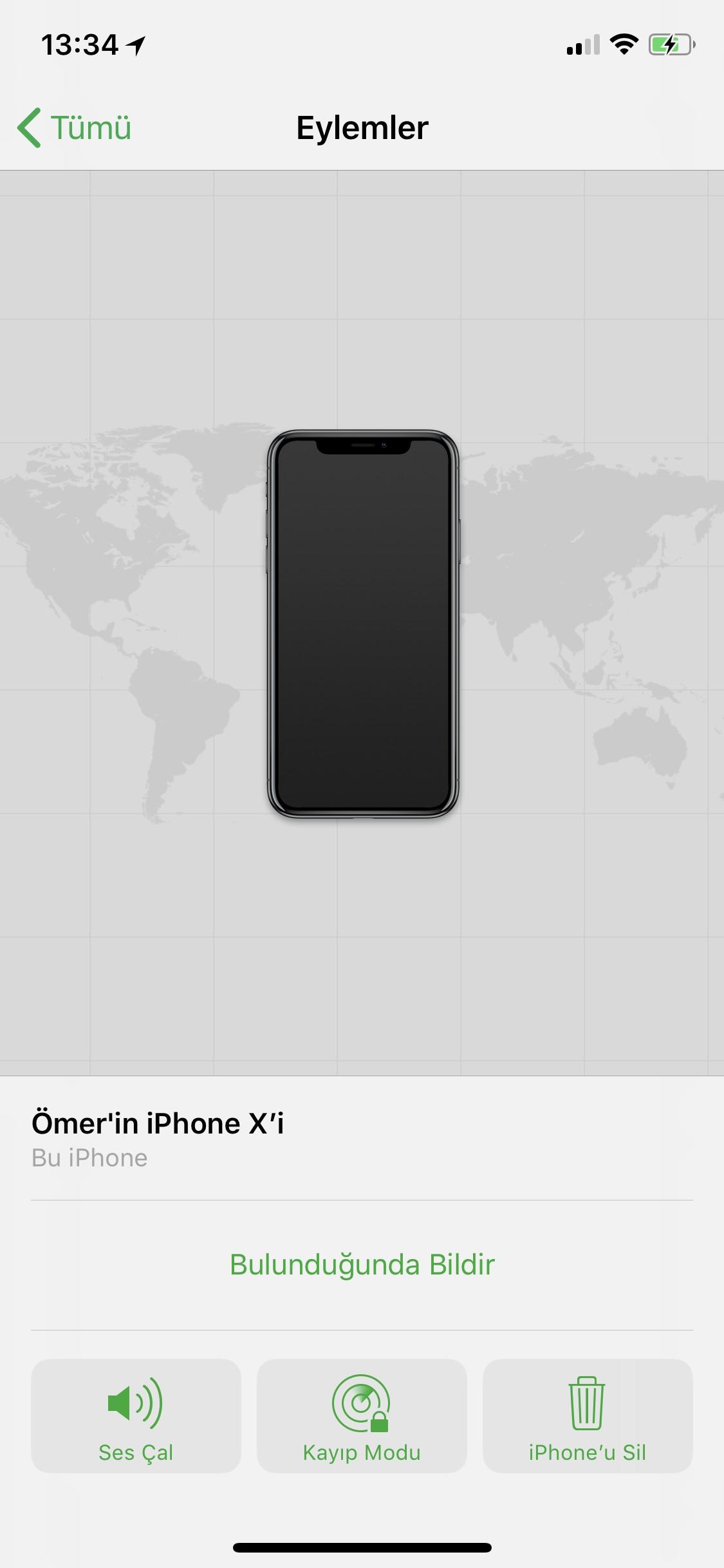 iPhone'u Bul