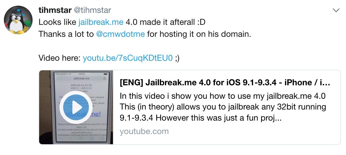 tihmstar-jailbreakme-4 ios 9 jailbreak