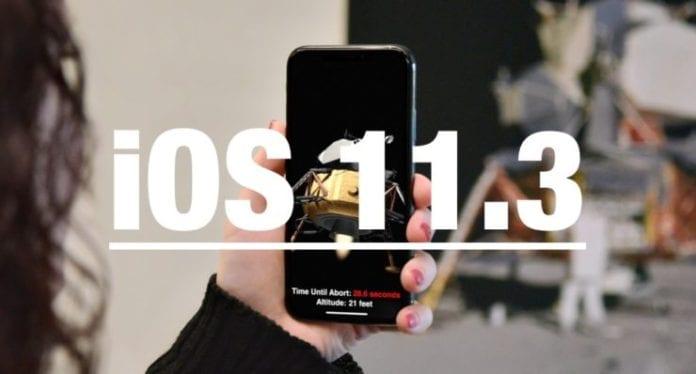 iOS-11.3
