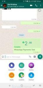 WhatsApp-Para-gondermek