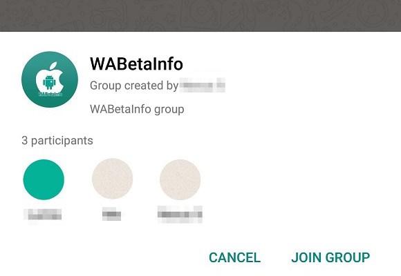WhatsApp grup konuşmalarında açıklama özelliği geliyor