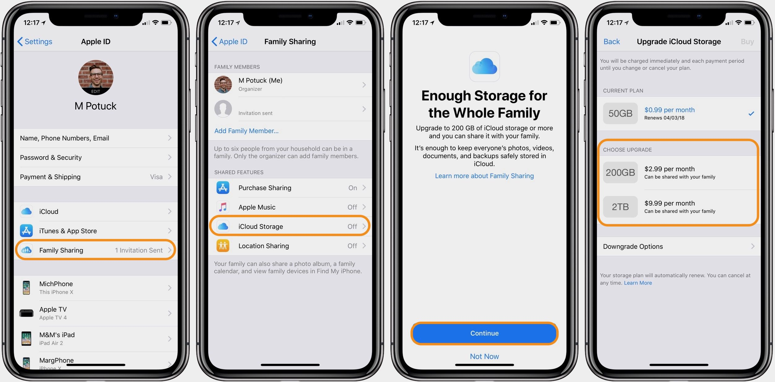 Tüm ailenizle bir iCloud Depolama planı nasıl paylaşılır