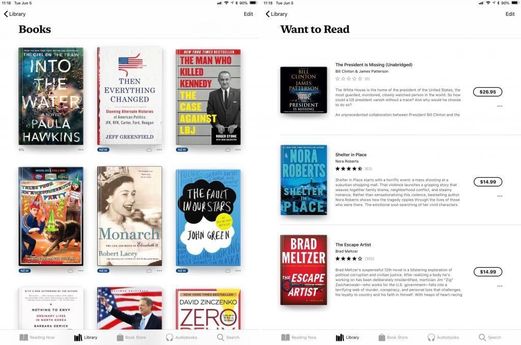 Yeni Apple Books Özellikleri