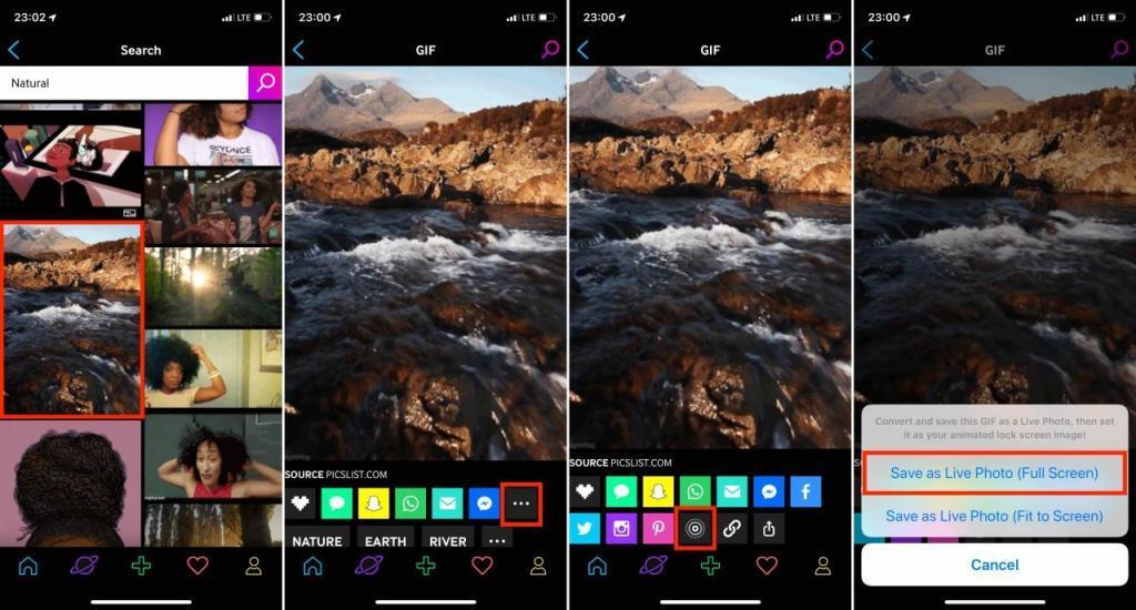 Kilit Ekranına Nasıl GIF Konur? - iOS