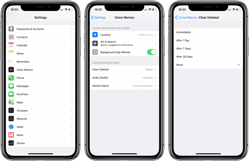 Sesli Notlar Nasıl Silinir? - iOS 12