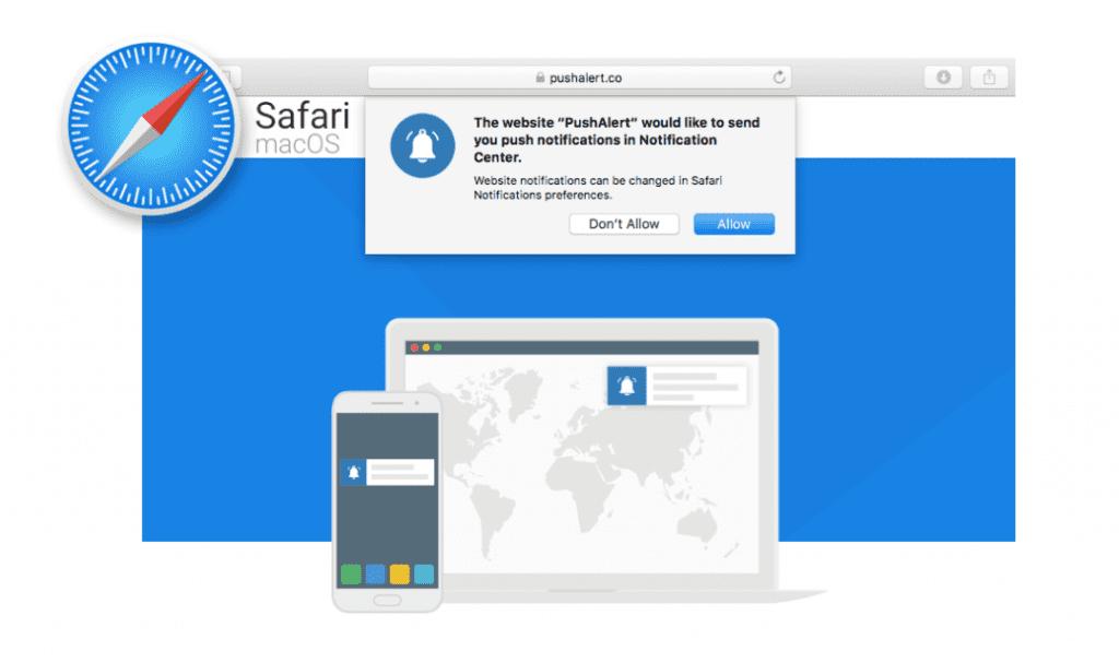 Safari Bildirim Yönetimi - macOS