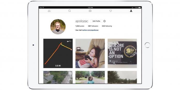 iPad için Instagram Uygulaması İndirme