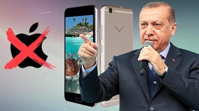 Cumhurbaşkanı'nın iPhone Açıklaması Sonrasın Vestel Hisseleri Yükseldi!