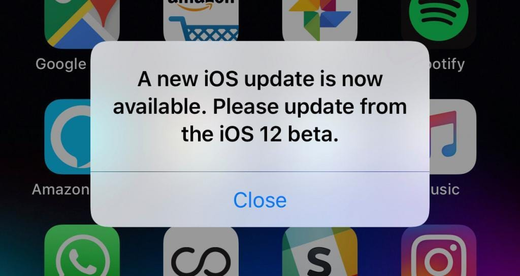 iOS 12 Beta 12 Çıktı!