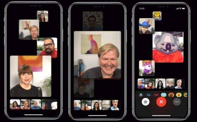 iOS 12.1 Grup FaceTime Özelliği Kullanımı