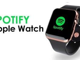 İnternetsiz müzik Spotify Apple Watch sürümü