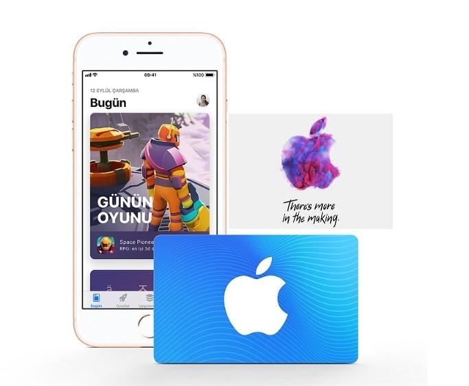 Apple sanal kredi kartı ekleme veya para yükleme