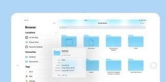 Apple iPhone dosyalar uygulaması