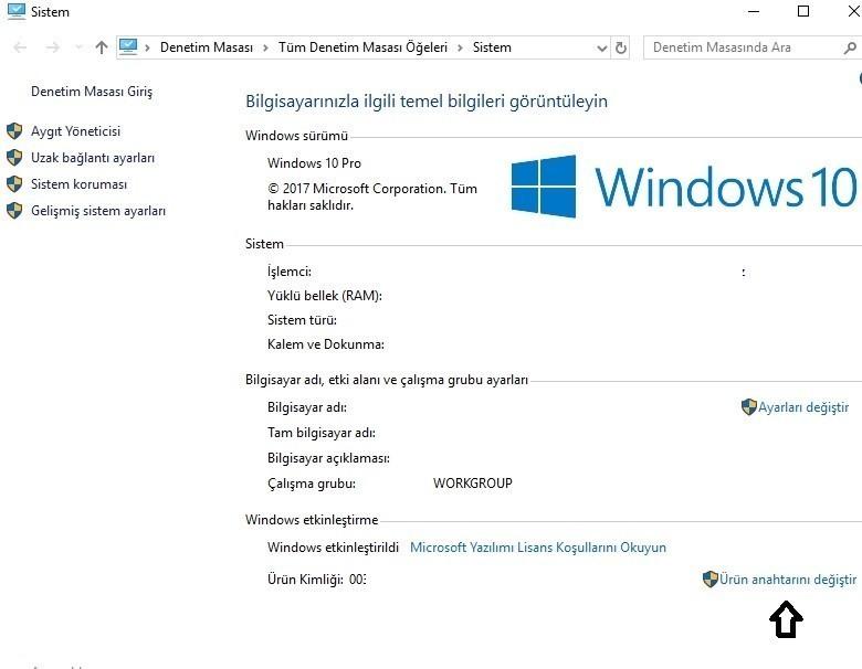 Windows 10 etkinlestirme-1