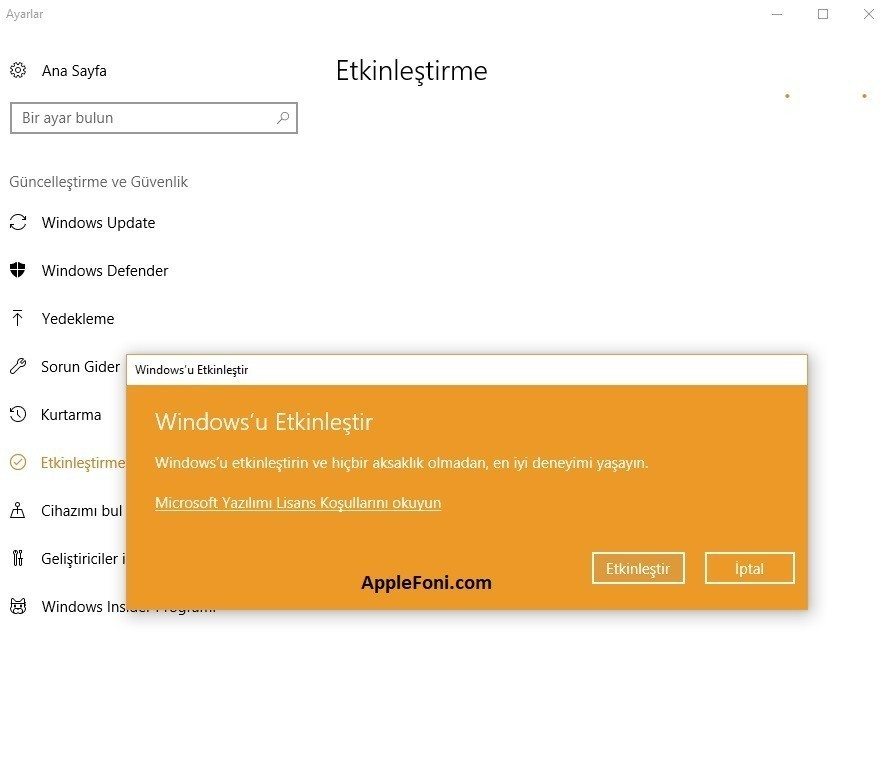 Windows 10 etkinlestirme-3