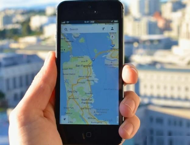 Google Maps kişiselleştirilmiş sekme iPhone' da
