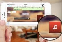 WhatsApp muzik nasil gonderilir iPhone-