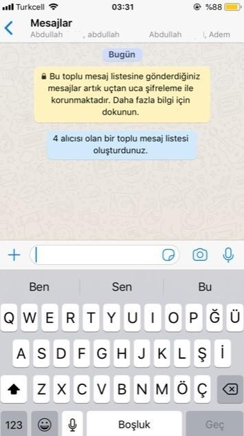 WhatsApp toplu mesaj atma secenegi-4